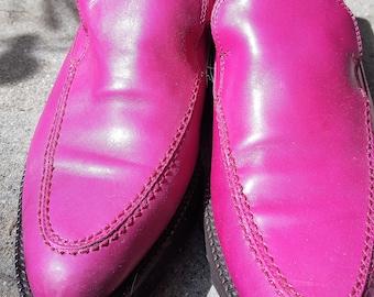 Rockabilly Donald Pliner Hot Pink 8,5 loafer