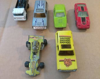 Vintage Yatming Diecast Car Collection
