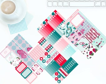 A Little Love - Weekly Kit Stickers for Erin Condren Vertical LifePlanner