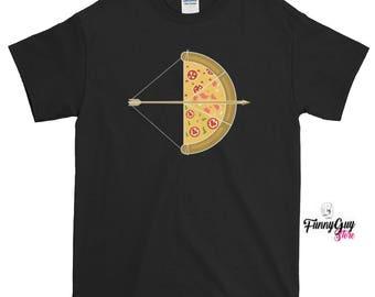 Pizza Tee Pizza Arrow Tee Pizza Lover Gift Cute Pizza Tee Graphic Tee Pizza Tshirt Funny Pizza Tee Cool Pizza Tee Birthday Gift Pizza Shirt