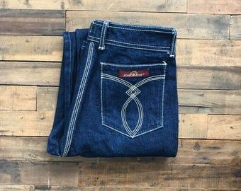Vintage 1970s Jordache Jeans - Size 28