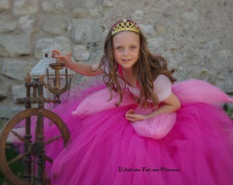 Sleeping beauty inspired princess dress