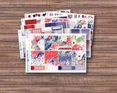 Liberty Weekly Kit | Summer Planner Stickers | ECLP | Happy Planner | Recollections Planner | Weekly Planner Stickers