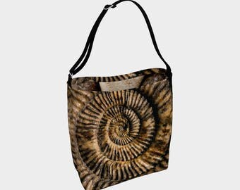 Fossil Face' Day Tote
