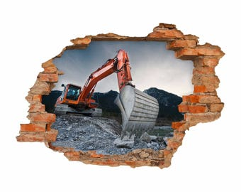 050 wall excavator II - hole in the wall