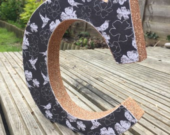 Wooden letters - free standing