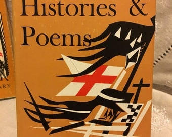 Shakespeare- Histories & Poems. Everymans library 154. Published in 1961.