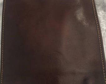 February Sale Italian leather crossbody bag