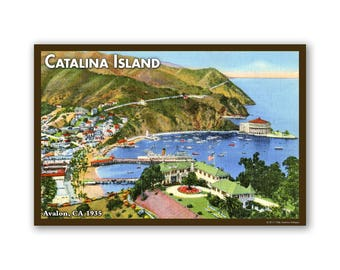 Catalina Island 1935 - On The Road To California