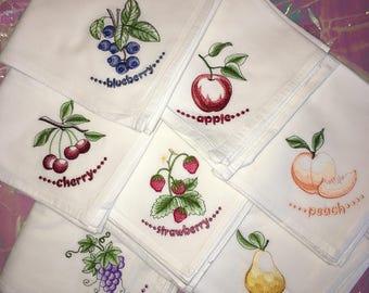 Dish Towel Set- Fruit