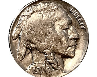 1931 S Buffalo Nickel - BU / MS / UNC