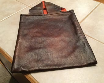 Shopping Bag made from faux leather