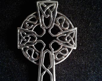 Sterling Silver Celtic Cross (08)