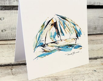 SAILS greeting card