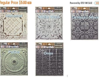 20% Off Sale 7Gypsies Architextures™ Tin Tiles - Choose Style (5 Styles Available)  Look of Real Tin Tiles.  See Description