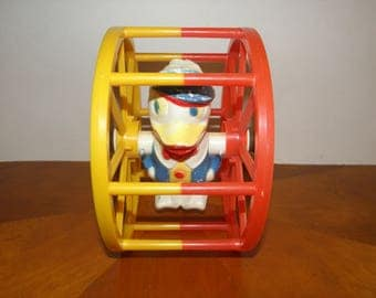 Duck Plastic Wheel Toy