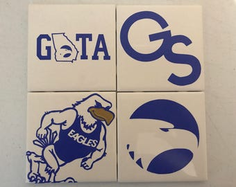 Georgia Southern Custom Coasters