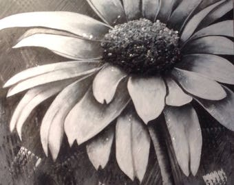 Silver shade, canvas, 24 by 36, acrylic, canvas, contemporary, timeless, by Anne.