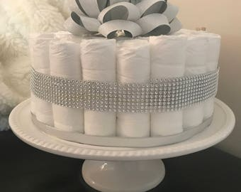 Bling Diaper Cake (1 Tier)