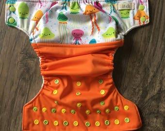 cloth diaper jellyfish cloth diaper medusa LiliBelle