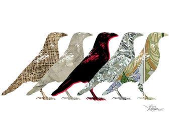 Textured Crow