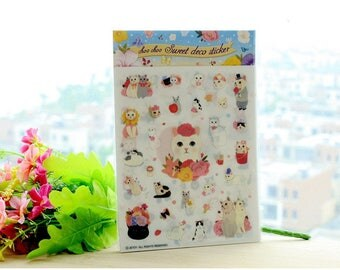 Stickers 4 sheets set Choo Choo Sweet deco sticker