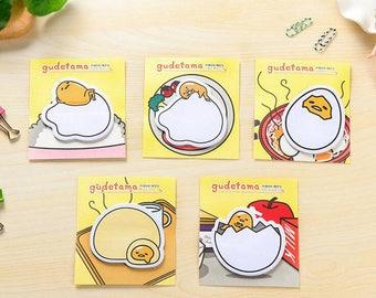 Skunk egg Gudetama memo pad