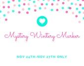 Mystery Wintery Marker, Miniature Food Charm, Food Jewelry , Handmade Polymer Clay Food Charm, Progress Keeper,