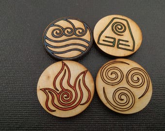 Four Elements Tokens