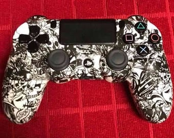 Red Skull Ps4 Controller