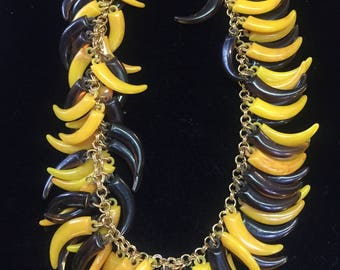 Vintage Vendome Necklace: banana tones from the 1960s