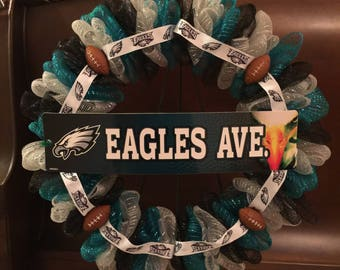 Philadelphia Eagles NFL Wreath