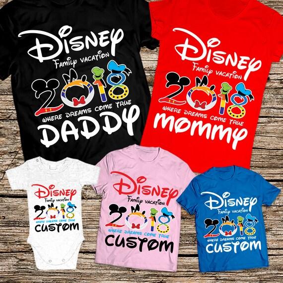 disney family vacation 2018 disney vacation shirts 2018