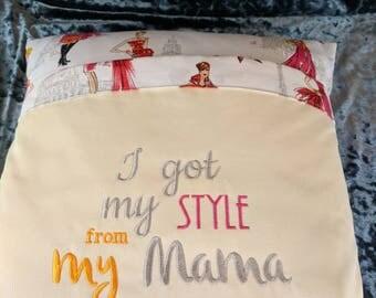 Mum,style,mama, mother's Day, birthday reading/kindle cushion.