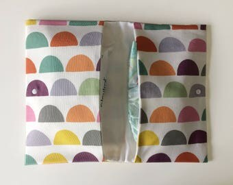 Baby Diaper pouch/diaper pouch colored waves