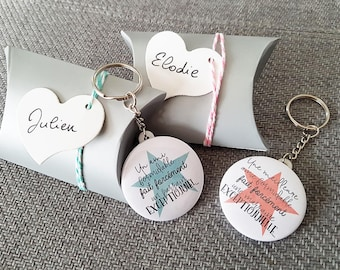 Key ring for special godparents