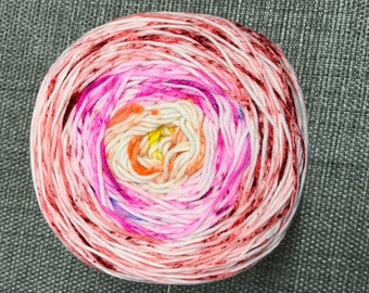 Done Roving DK Gradient Transitions -  Campfire Sunset