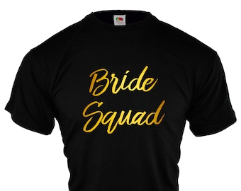 Black gold squad etsy for Bucket squad gold shirt