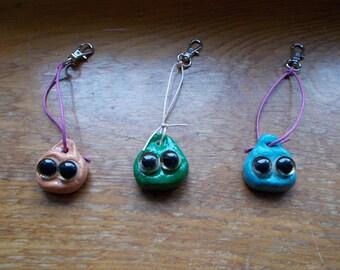 Clay eyeball bugs!