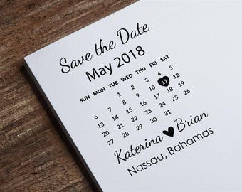Save the Date Stamp, Calendar Stamp, Custom Wedding Stamp, Invitations Stamp, DIY Wedding Stamp, Wedding Invitation Stamp Z49
