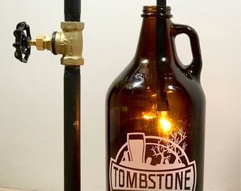 Growler Lamp (add your favorite growler)