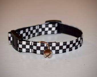 Checkered Cat collars
