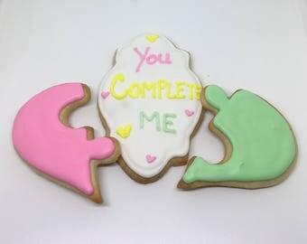 You Complete Me Cookies Dozen