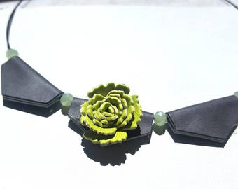 Synthetic leather Choker