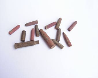 Father's Day Antique bullets, Military artifacts, Old bullets, Vintage bullets, Artifacts from War, War relics, Old ammunition, Rifle bulets