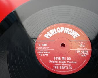 "The Beatles - 'Love Me Do' - 12"" 20th Anniversary Vinyl Record"
