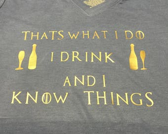 Game of Thrones inspired T shirt
