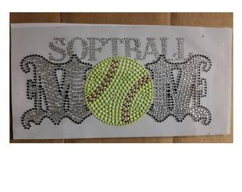 BLING Softball Mom Shirt