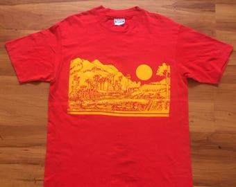 vintage 1985 The Ithsmus Catalina Island Hawaii tees