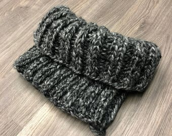 Hand Knitted Chunky Cowl